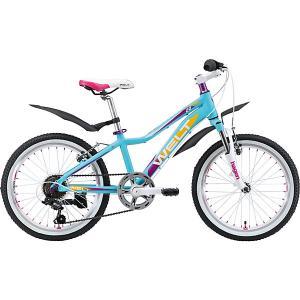 Велосипед  Edelweiss 20, фиолетовый Welt. Цвет: фиолетовый