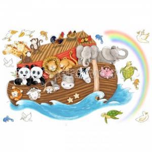 Наклейки для декора Ноев ковчег RoomMates