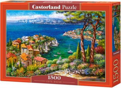 Пазл Лазурный берег (1500 элементов) Castorland