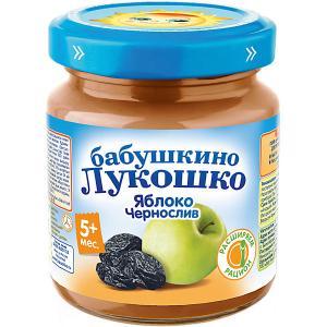 Пюре  яблоко чернослив, с 5 мес, 6 шт х 100 г Бабушкино Лукошко