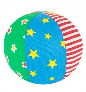Мяч с погремушкой  Радуга, 9 см Мякиши