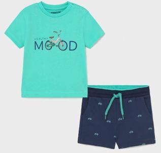 Комплект для мальчика (футболка, шорты) 1673 Mayoral