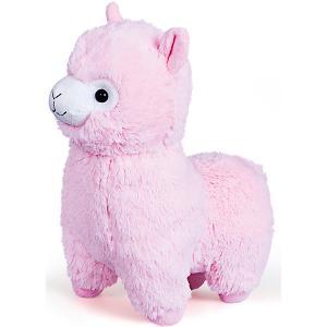 Мягкая игрушка  «Альпака», розовая Fancy. Цвет: розовый