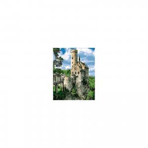 Холст с красками по номерам Замок на скале 40х50 см Издательство Рыжий кот