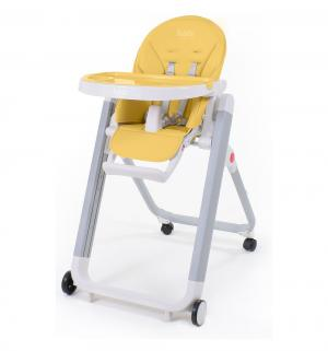 Стульчик для кормления  Futuro Senso Bianco, цвет: желтый Nuovita