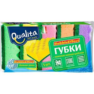 Кухонная губка QUALITA Bubble Effect, 5 шт Cotton Club