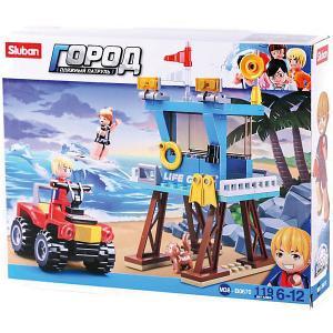 Конструктор  Пляжные спасатели: Патрульный на квадроцикле, 119 деталей Sluban. Цвет: разноцветный