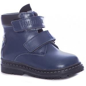 Ботинки для мальчика Minimen. Цвет: темно-синий
