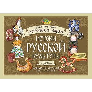 Игровое пособие к Логическому экрану IV Истоки русской культуры Корвет