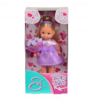 Кукла  Еви Подружка невесты в сиреневом платье 12 см Simba