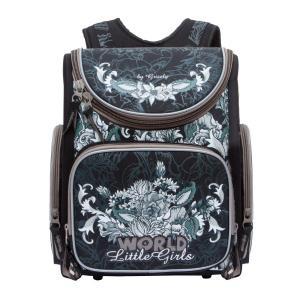 Рюкзак школьный  цвет: черный 34х37х18 см Grizzly