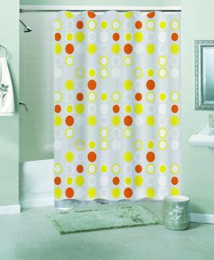 Штора для ванной комнаты Пузыри Niklen