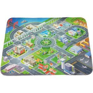 Игровой коврик  Город Teplokid. Цвет: синий