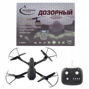 Квадрокоптер Дозорный с Wi-Fi камерой на радиоуправлении Властелин небес