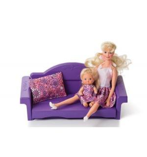 Мебель для куклы  Диван раскладной Конфетти Огонек