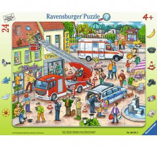 Пазл  Пожарная команда 24 шт. Ravensburger