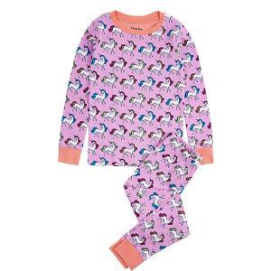 Пижама Hatley. Цвет: сиреневый