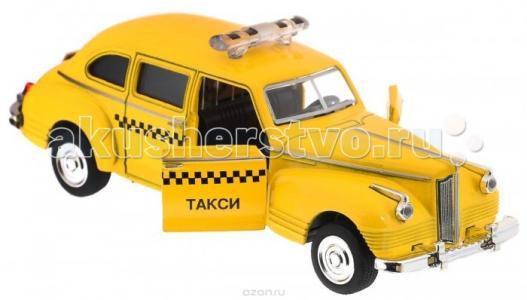 Инерционная металлическая машинка такси,  14 х 5,7 7 см Play Smart
