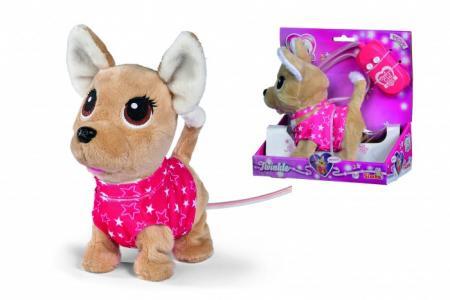 Интерактивная плюшевая собачка на кабельном ДУ 20 см Chi-Chi Love