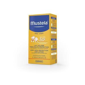 Молочко для тела  солнцезащитное SPF 50+, 100 мл Mustela