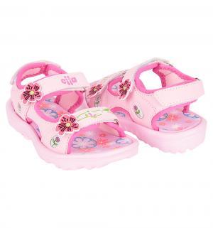 Сандалии пляжные , цвет: розовый Effa