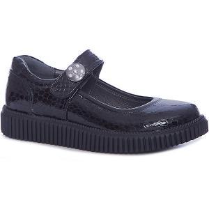 Туфли для девочки Minimen. Цвет: черный