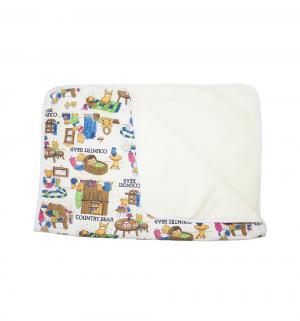 Пеленка  двусторонняя 3-хслойная непромокаемая 50х70 см, 1 шт, цвет: белый Multi-Diapers