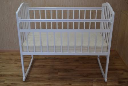 Детская кроватка  Melisa-2 (колесо-качалка) Массив