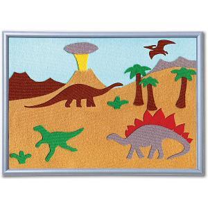 Набор  Аппликация Динозавры, 30х21 STIGIS