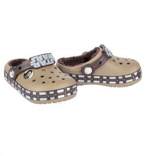Сабо  CB Star Wars Chewbacca Lined K Khaki, цвет: хаки Crocs