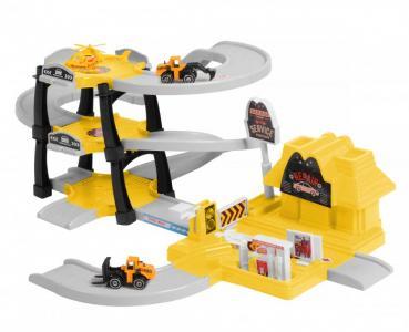 Паркинг 3-уровневый Стройка (30 деталей) BeBoy