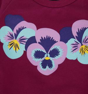 Платье-туника , цвет: фиолетовый The hip!