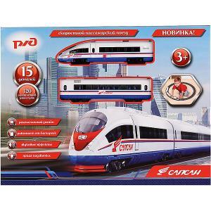 Железная дорога  Сапсан, на батарейках Играем вместе. Цвет: разноцветный