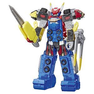 Игровая фигурка Power Rangers Beast Morphers Мегазорд, 25 см Hasbro. Цвет: разноцветный