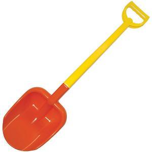 Лопата двухцветная , 66 см, красная Zebratoys. Цвет: красный