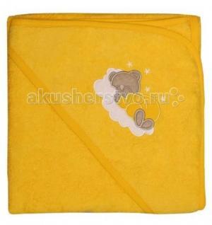 Уголок-полотенце после купания 90х90 см Sevi Baby