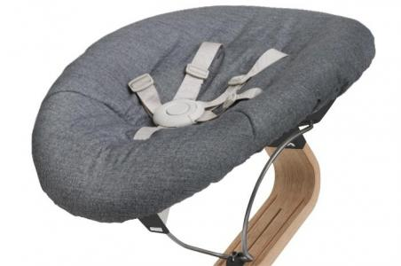 Кресло-шезлонг Baby для стула Nomi (основание черное) Evomove