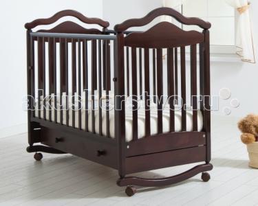 Детская кроватка  Анжелика качалка Гандылян