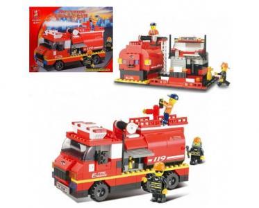 Конструктор  Пожарные спасатели (281 деталь) Sluban