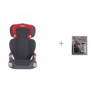 Автокресло  Junior Maxi и защита спинки сиденья от грязных ног ребенка АвтоБра Graco