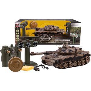 Игровой набор  Танк Т-90, свет/звук Пламенный мотор. Цвет: разноцветный