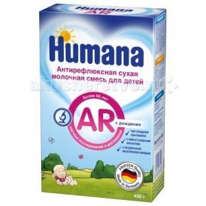 Заменитель Антирефлюкс с 0 мес. 400 г Humana