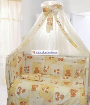 Комплект в кроватку  Дрема (7 предметов) Kids Comfort