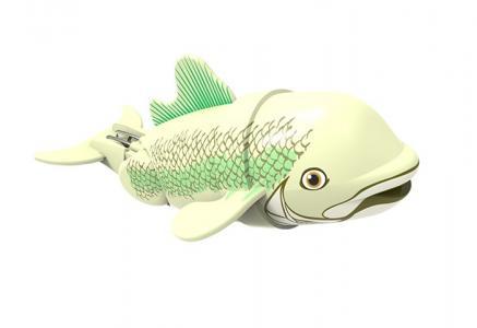 Интерактивная игрушка  Рыбка-акробат 12 см Море чудес
