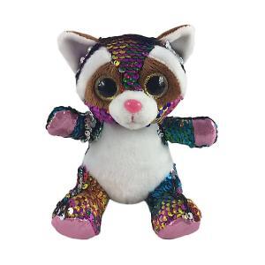 Мягкая игрушка  Енот с пайетками, 15 см ABtoys. Цвет: разноцветный