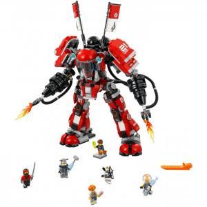 Конструктор  Ninjago 70615 Лего Ниндзяго Огненный робот Кая Lego