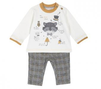 Комплект для мальчиков лонгслив и брюки 090763340 Chicco