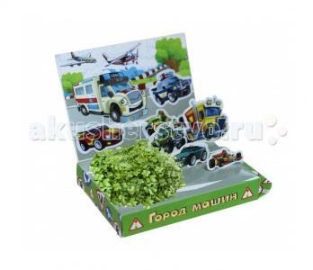 Детский набор для выращивания Город машин Happy Plant