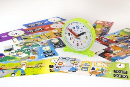 Развивающая игрушка  Набор обучающий Часы Activity Clock Miniland