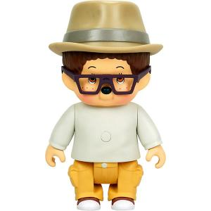 Интерактивная игрушка  Вилли, 12 см Monchhichi. Цвет: разноцветный